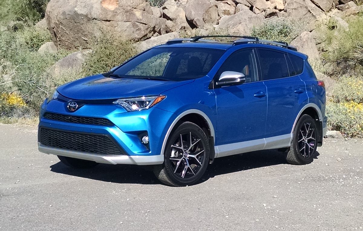 Review 2016 Toyota Rav4 Se Testdriven Tv