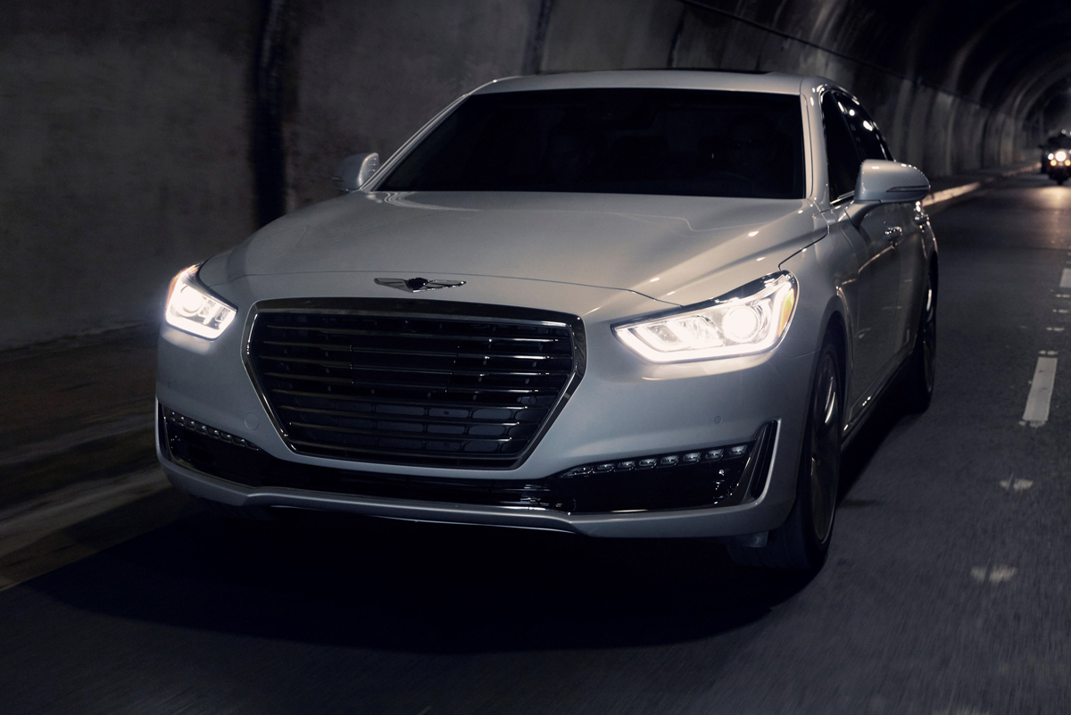 Awesome First Look 2017 Genesis G90  TestDrivenTV