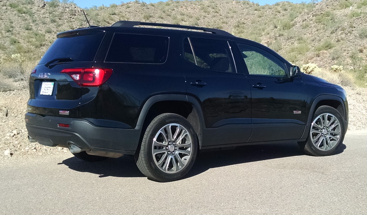 first drive 2017 gmc acadia all terrain testdriven tv. Black Bedroom Furniture Sets. Home Design Ideas