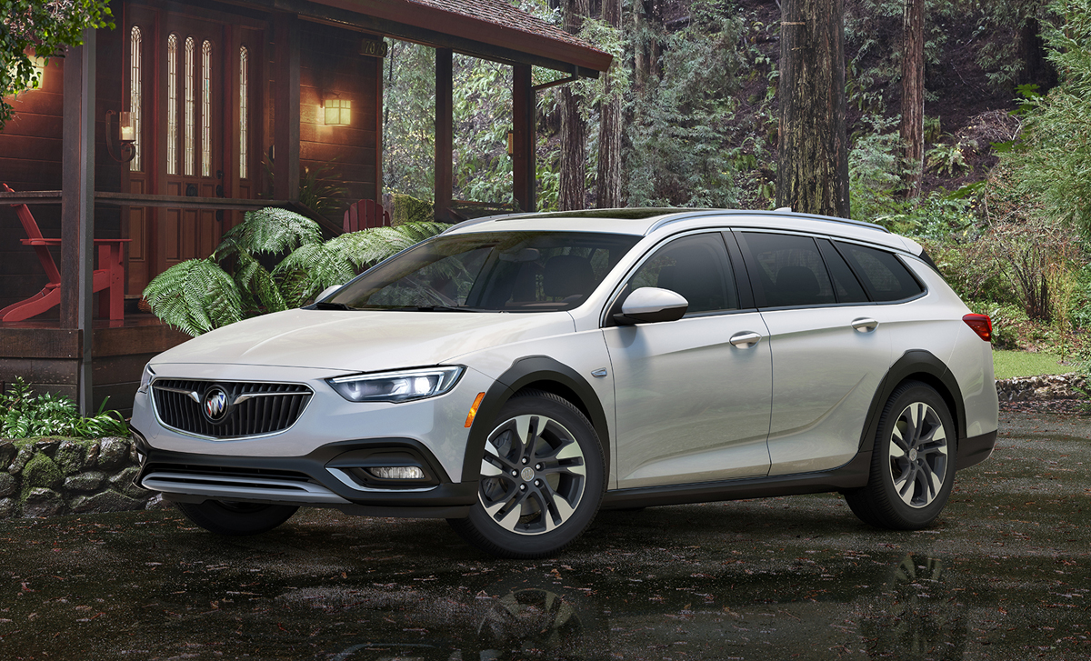 Simple First Look 2018 Buick Regal TourX  TestDrivenTV