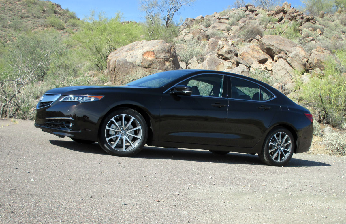 first drive review 2015 acura tlx testdriven tv. Black Bedroom Furniture Sets. Home Design Ideas