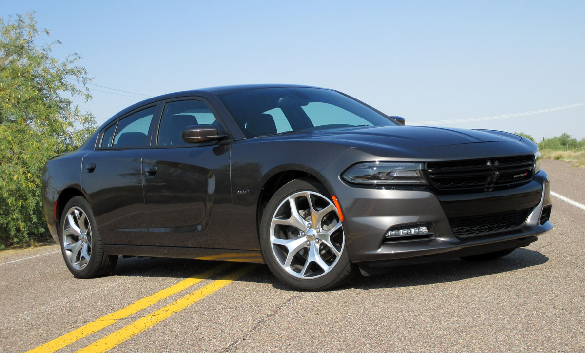 First Drive: 2015 Dodge Charger R/T - TestDriven.TV