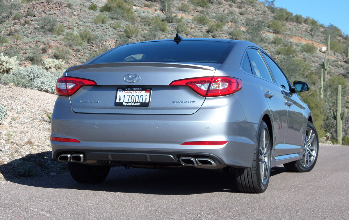 First Drive: 2015 Hyundai Sonata Sport 2.0T - TestDriven.TV