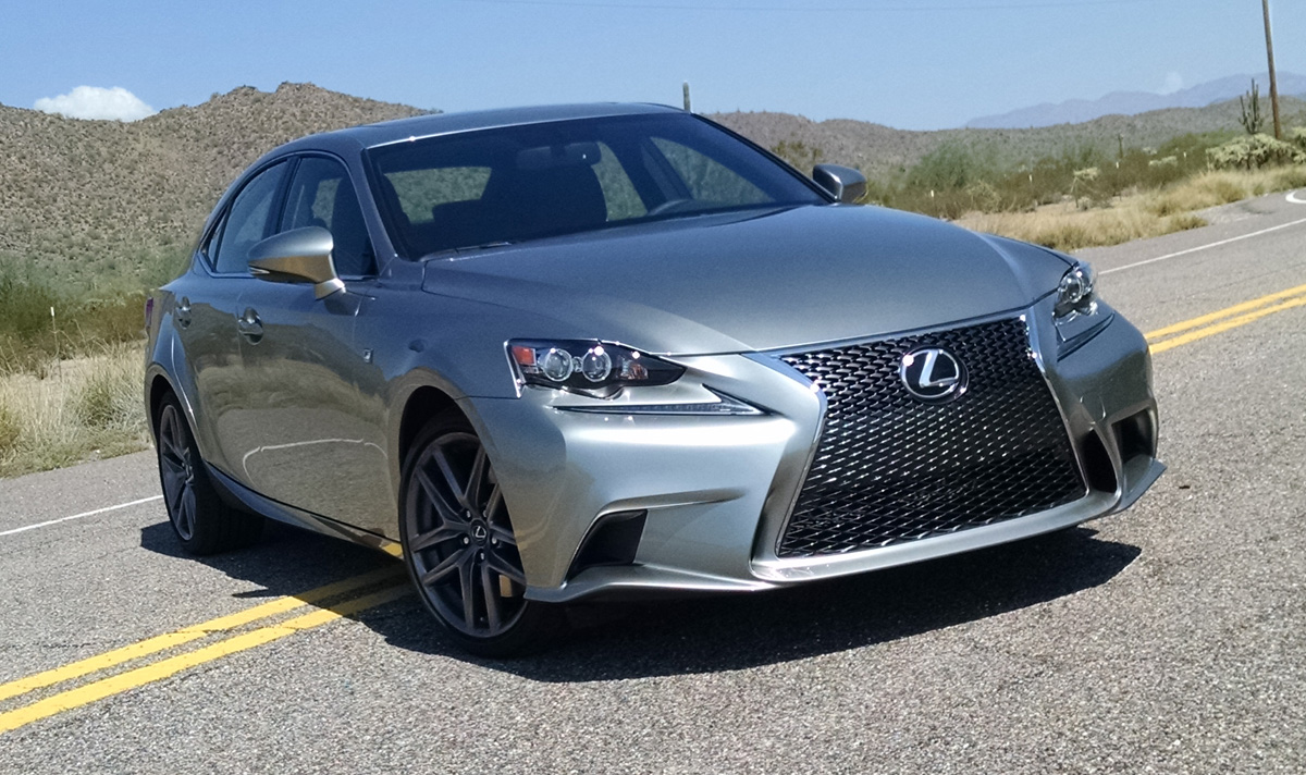 2018 Lexus Is350 F Sport >> Road Test: 2015 Lexus IS 350 F Sport - TestDriven.TV