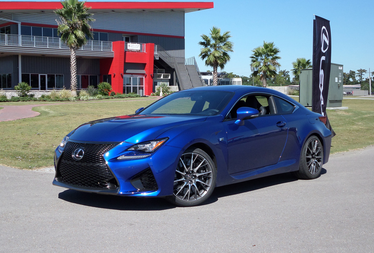 track test 2015 lexus rc f testdriven tv. Black Bedroom Furniture Sets. Home Design Ideas