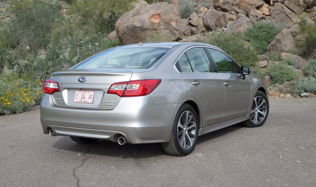 Subaru Legacy 3.6R >> 2015 Subaru Legacy 3.6R First Drive Review - TestDriven.TV