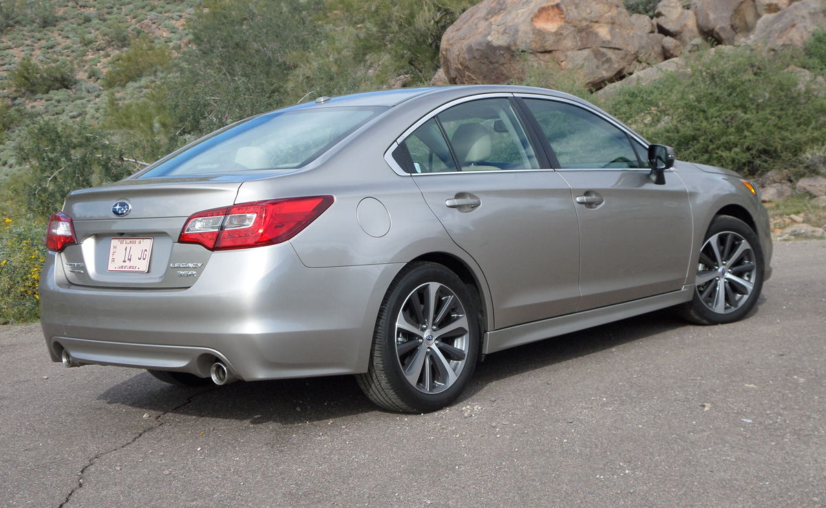What Is Subaru Eyesight >> 2015 Subaru Legacy 3.6R First Drive Review - TestDriven.TV