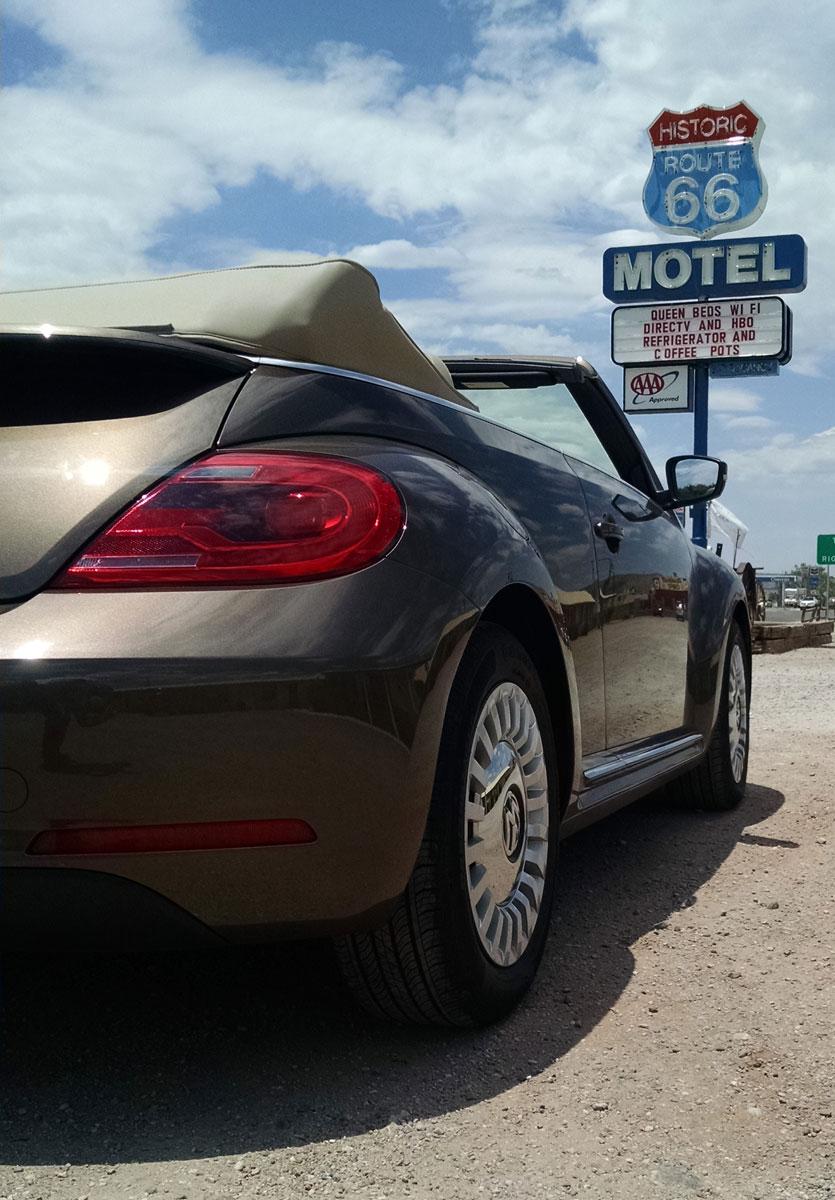 route 66 test drive 2015 volkswagen beetle convertible testdriven tv. Black Bedroom Furniture Sets. Home Design Ideas