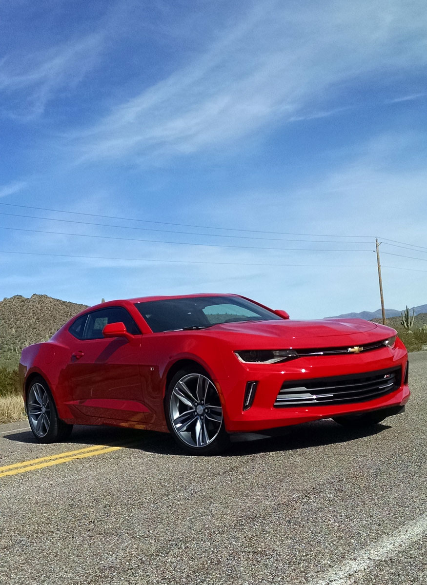 First Drive: 2016 Chevrolet Camaro - TestDriven.TV