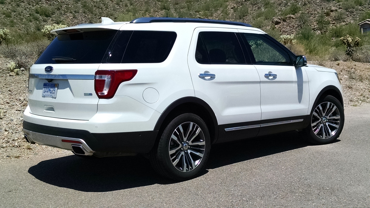 First Drive: Ford Explorer Platinum - TestDriven.TV