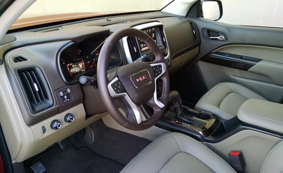 New Toyota Tacoma >> Test Drive: 2016 GMC Canyon SLT DuraMax Diesel - TestDriven.TV