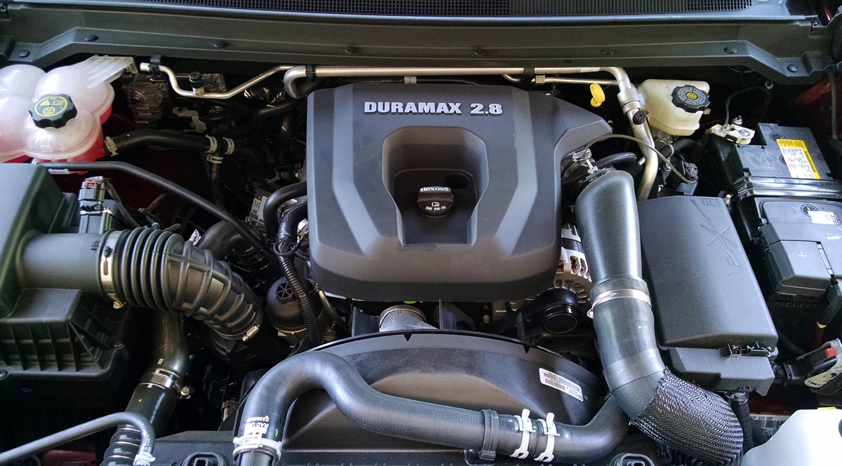 2016 Duramax Specs >> Under The Hood: 2016 GMC Canyon DuraMax Diesel - TestDriven.TV
