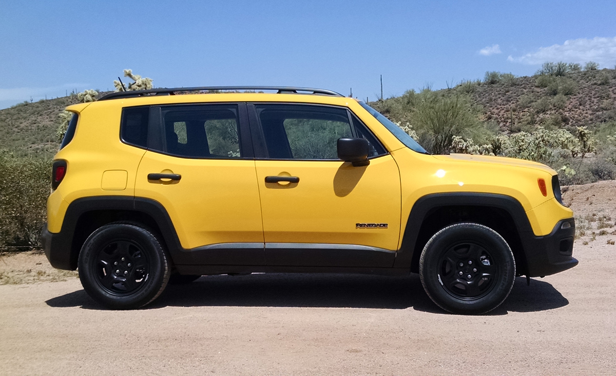 off road test 2016 jeep renegade sport 4x4 testdriven tv. Black Bedroom Furniture Sets. Home Design Ideas
