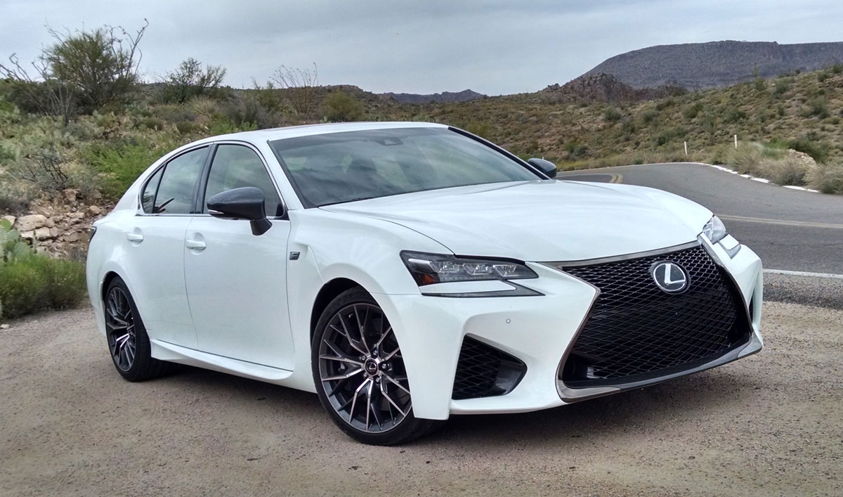 2016 Civic Type R Price >> Road Test: 2016 Lexus GS-F - TestDriven.TV