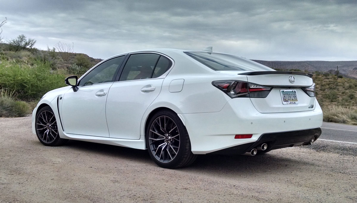 Road Test: 2016 Lexus GS-F - TestDriven.TV