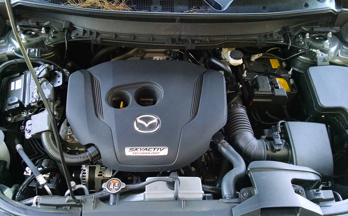 Under The Hood  2016 Mazda Cx9 2 5t