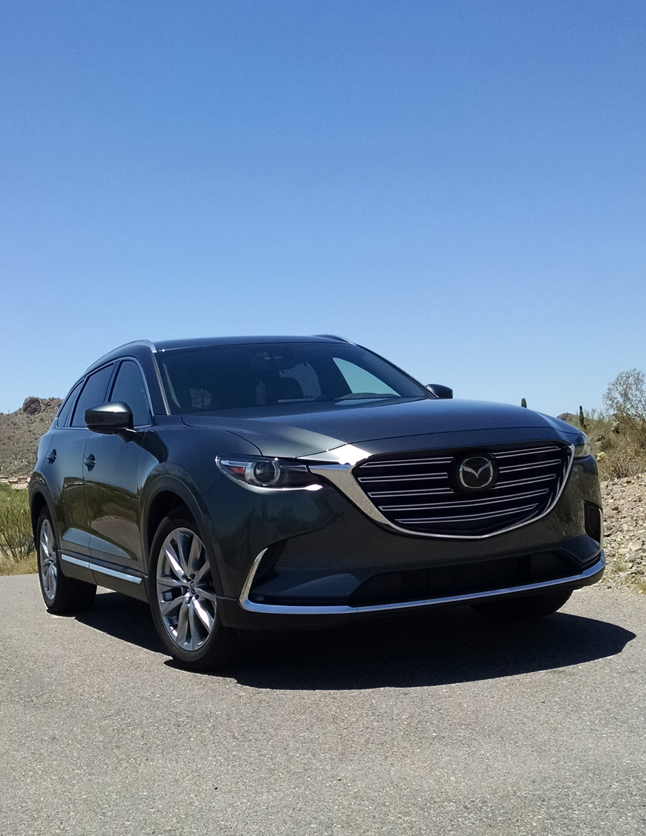 Brilliant First Drive 2016 Mazda CX9 Signature  TestDrivenTV