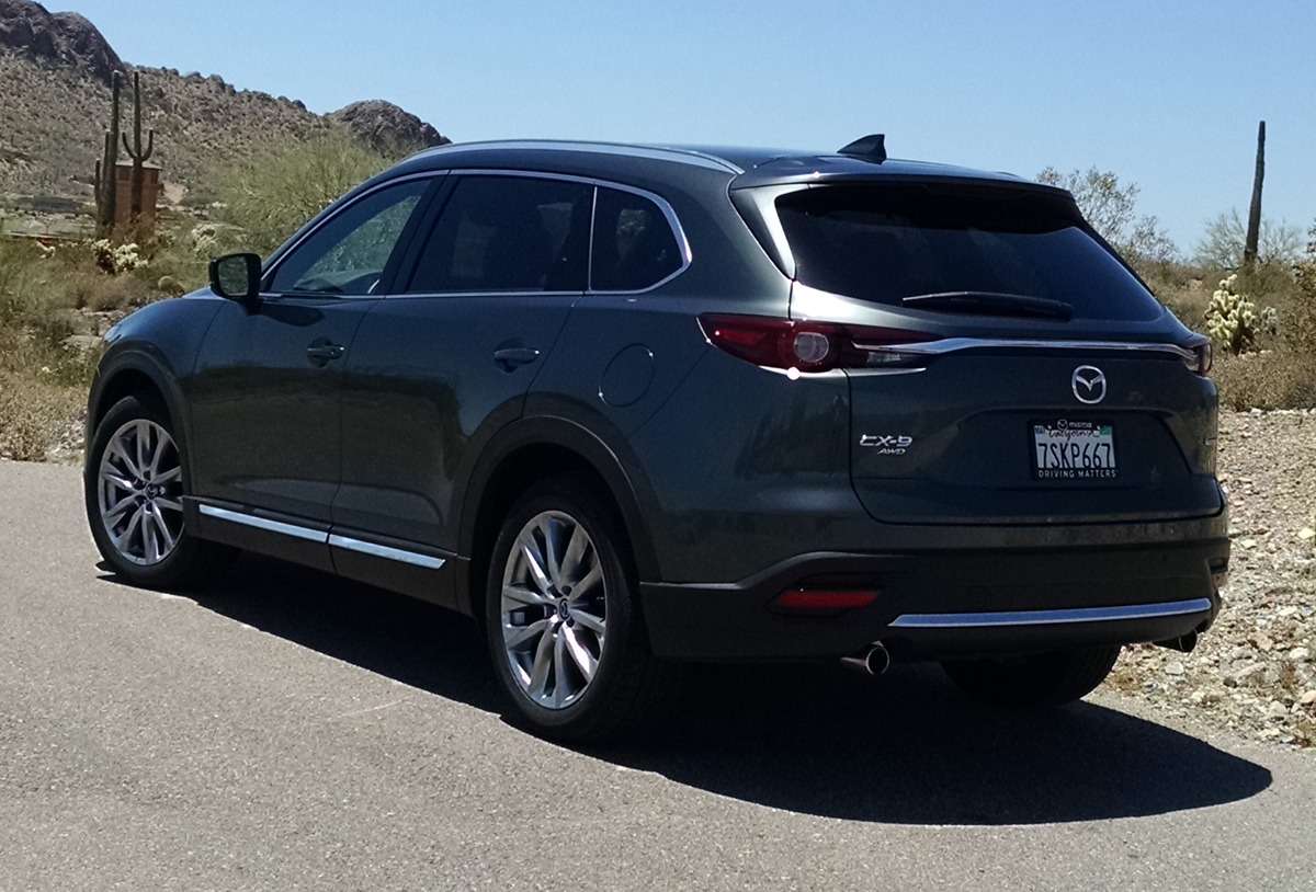 Beautiful First Drive 2016 Mazda CX9 Signature  TestDrivenTV