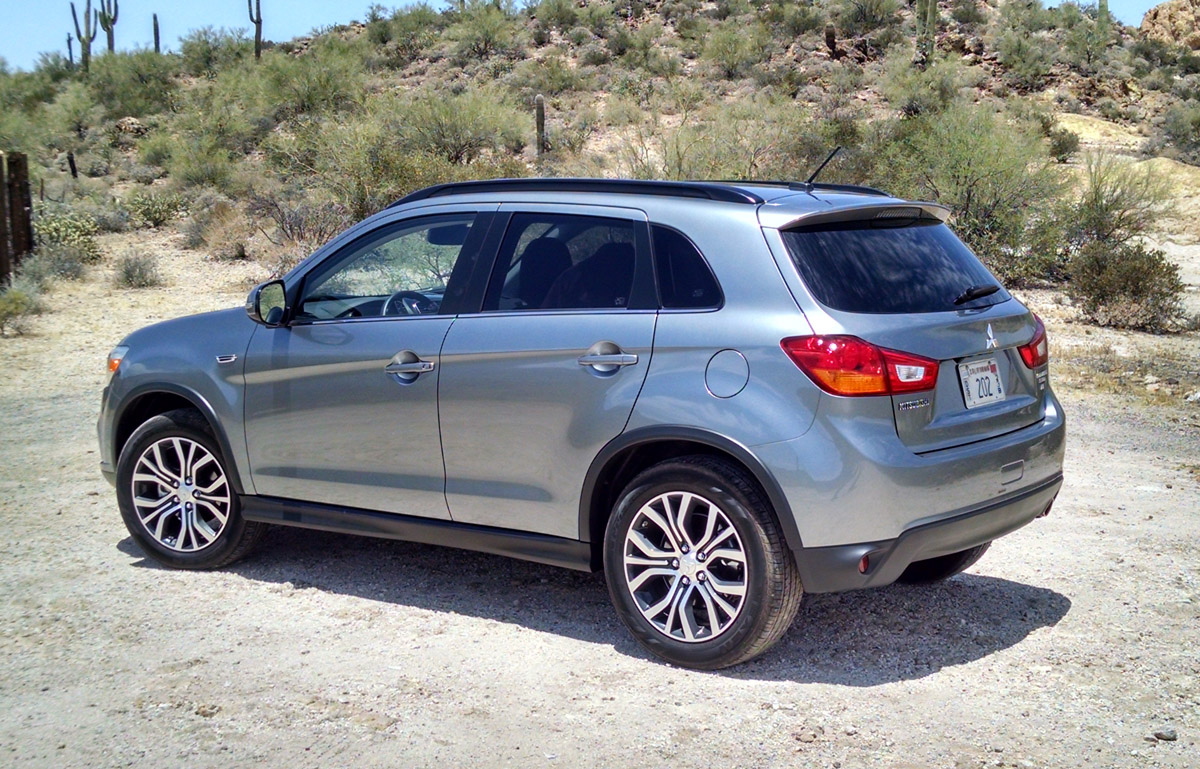 first drive 2016 mitsubishi outlander sport testdriven tv. Black Bedroom Furniture Sets. Home Design Ideas
