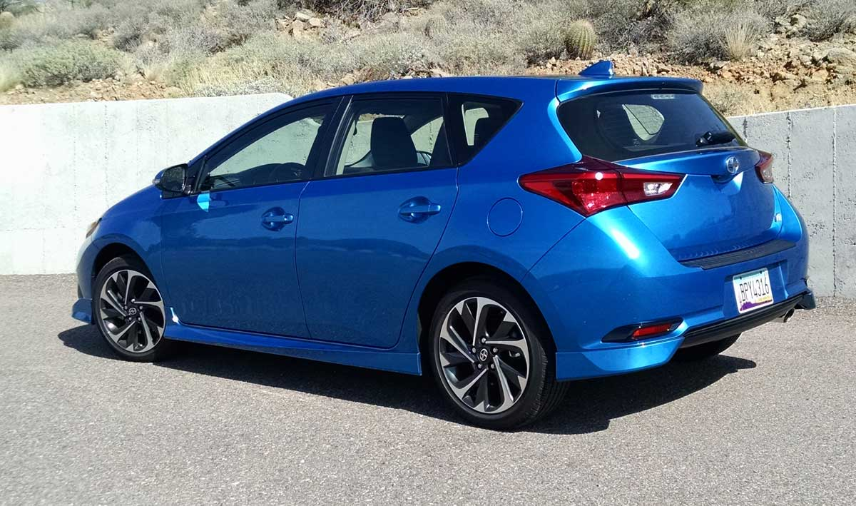 Test Drive Review 2016 Scion Im Manual And Cvt