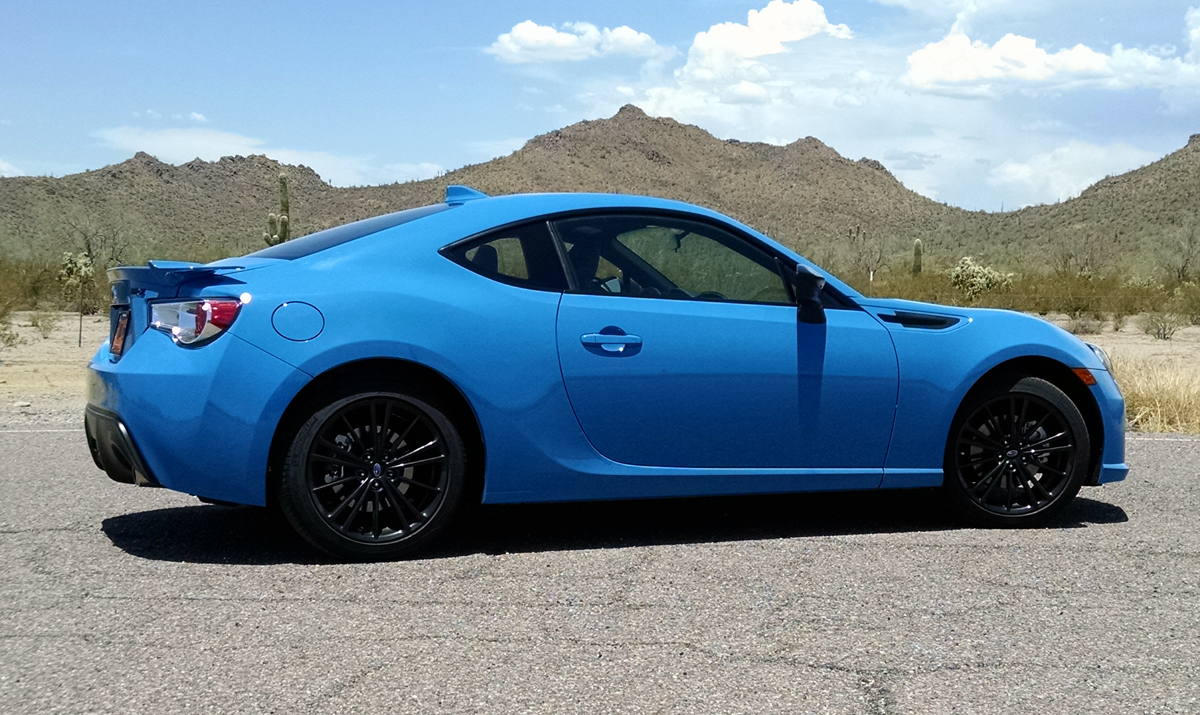 test drive 2016 subaru brz series hyperblue testdriven tv. Black Bedroom Furniture Sets. Home Design Ideas