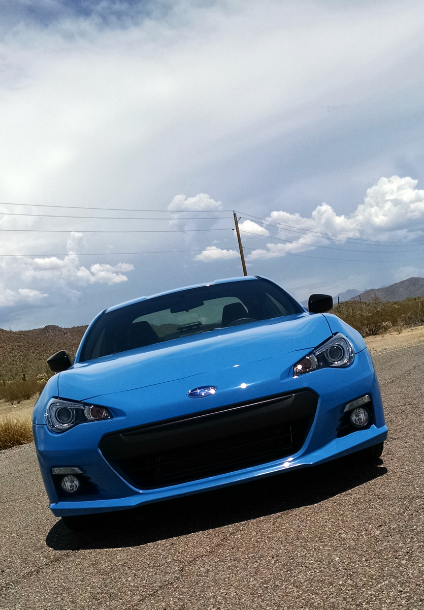 Test Drive: 2016 Subaru BRZ Series.HyperBlue - TestDriven.TV
