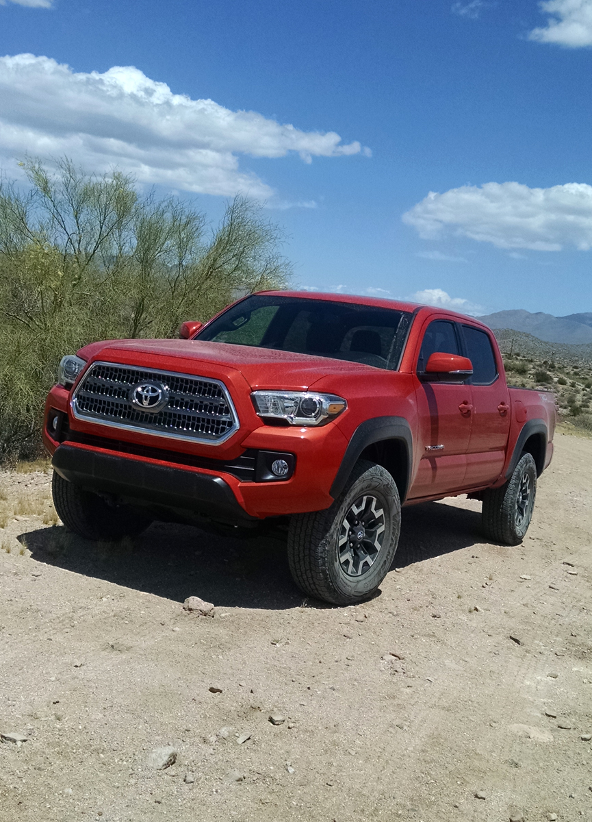 off road test 2016 toyota tacoma trd testdriven tv. Black Bedroom Furniture Sets. Home Design Ideas