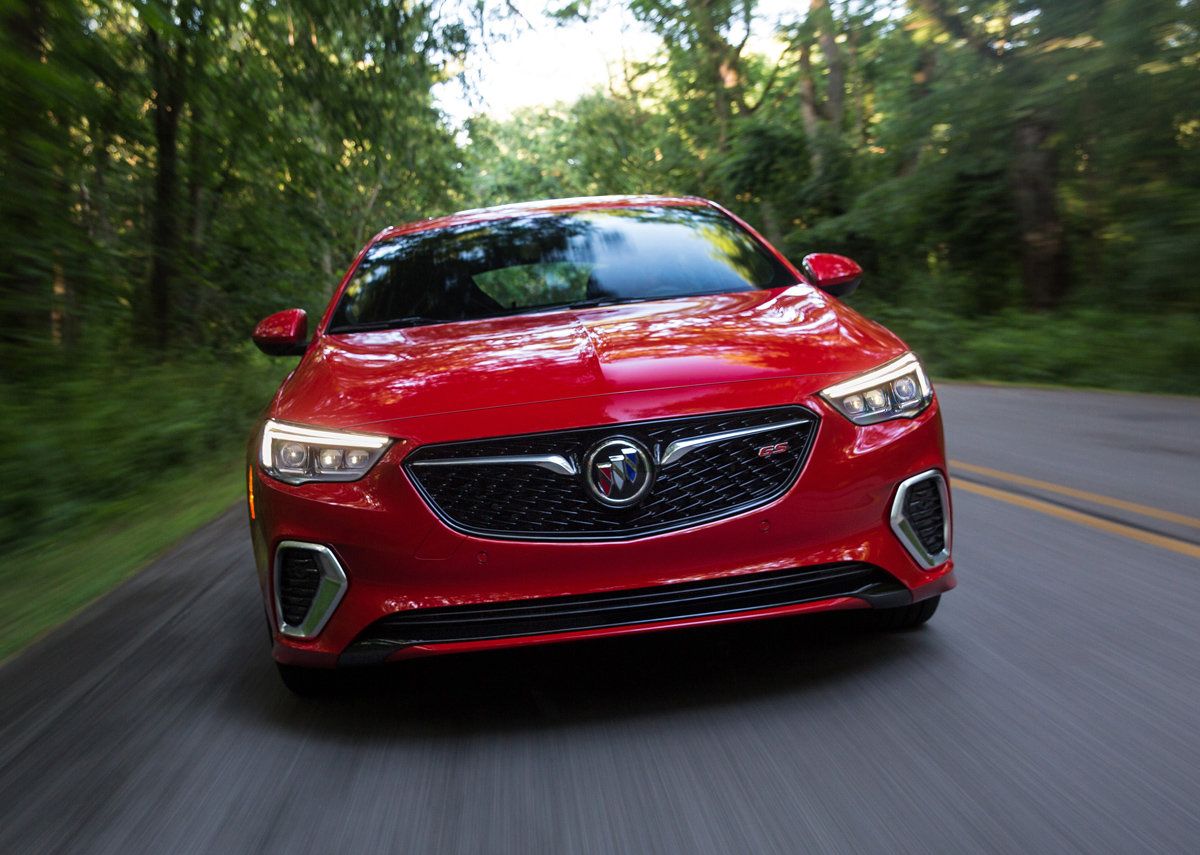 Original First Look 2018 Buick Regal GS  TestDrivenTV