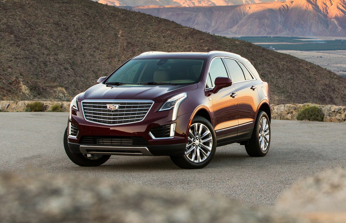 first look 2017 cadillac xt5 testdriven tv. Black Bedroom Furniture Sets. Home Design Ideas