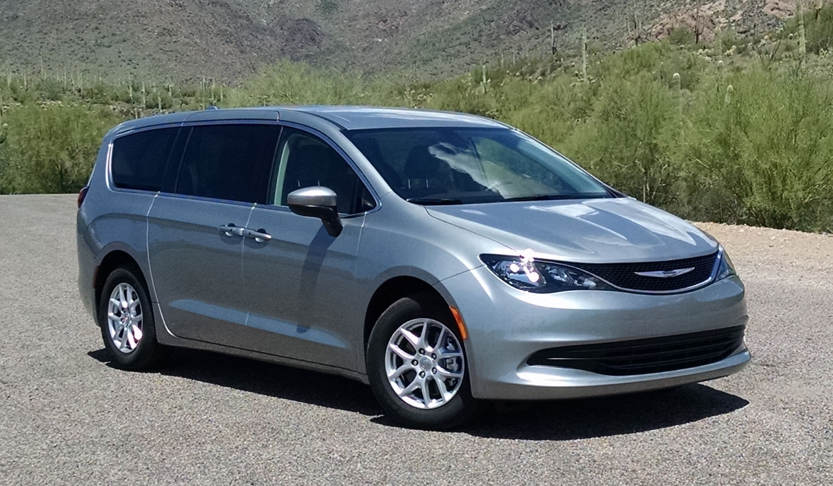 Test Drive: 2017 Chrysler Pacifica Touring - TestDriven.TV