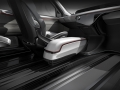 Chrysler Portal Concept floating console and in-floor track moun