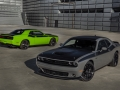 2017 Dodge Challenger T/A 392 (foreground) and 2017 Dodge Challe