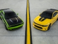 2017 Dodge Challenger T/A (left) and 2017 Dodge Charger Daytona
