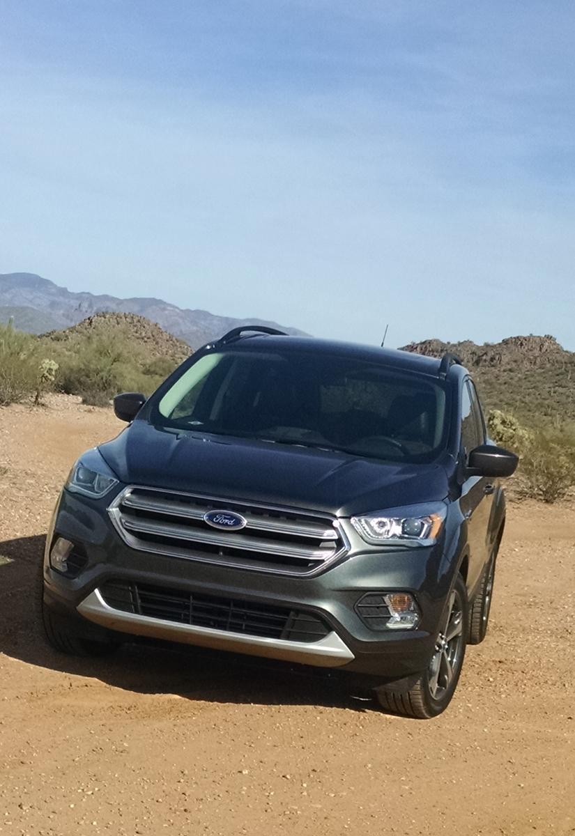 Test Drive: 2017 Ford Escape SE - TestDriven.TV