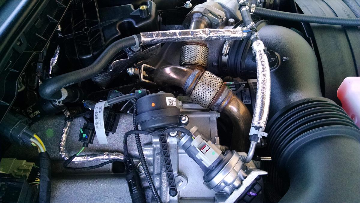Under The Hood 2017 F Series 67 Power Stroke Diesel Engine Diagram 17 Ford 9