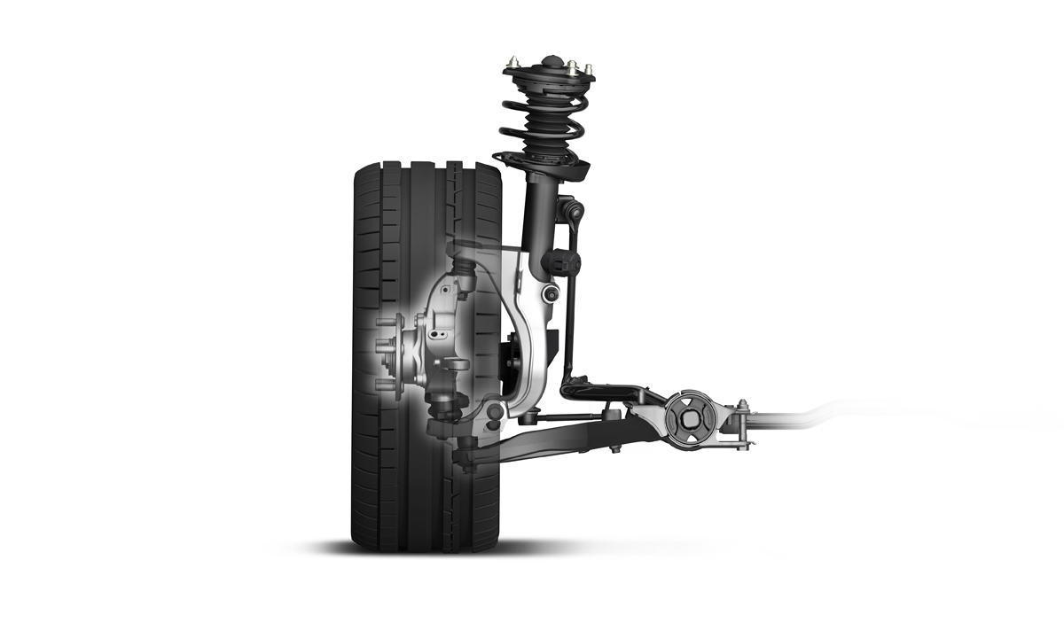 2017 Honda Civic Type R Front Suspension