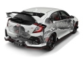 2017 Honda Civic Type R Overview Rear