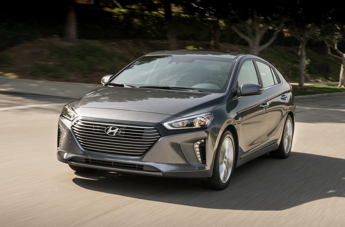Unique First Look 2017 Hyundai Ioniq Hybrid Plugin And