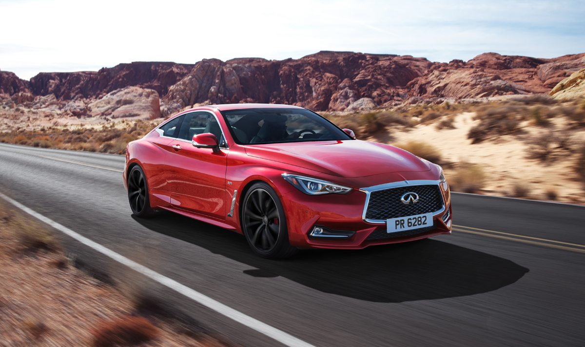Amazing First Look 2017 Infiniti Q60  TestDrivenTV