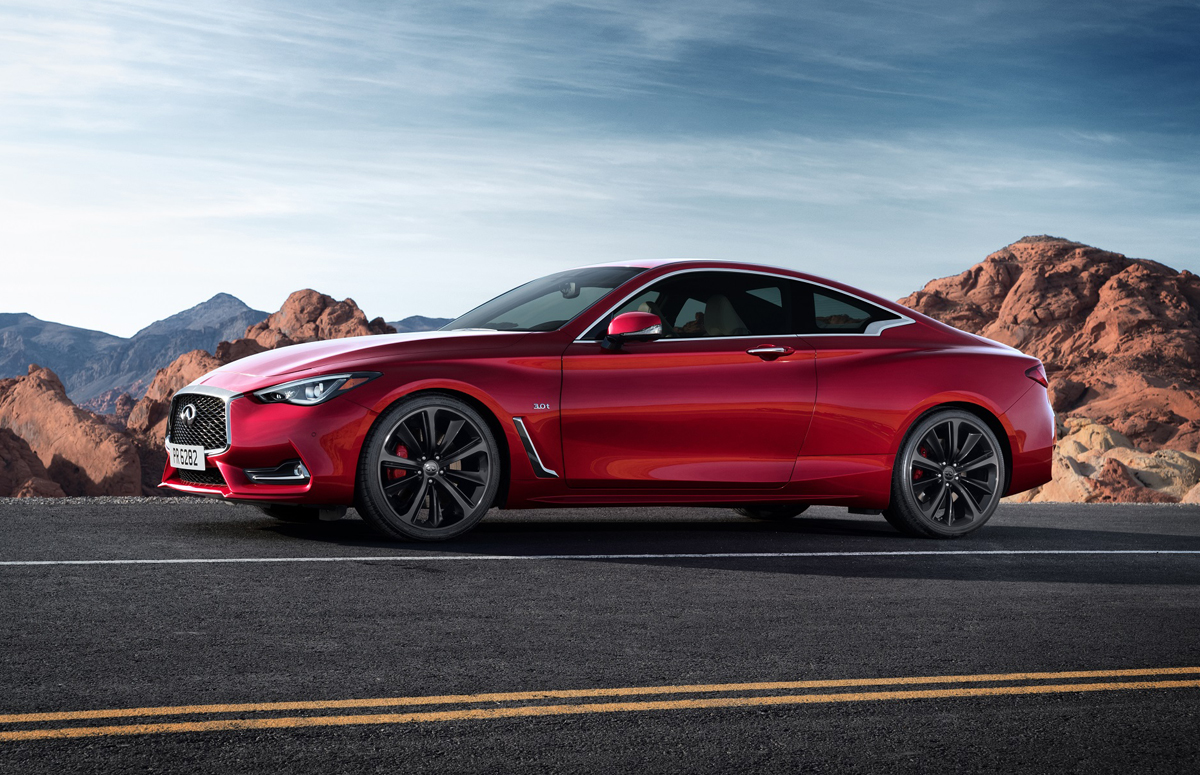 Cool First Look 2017 Infiniti Q60  TestDrivenTV