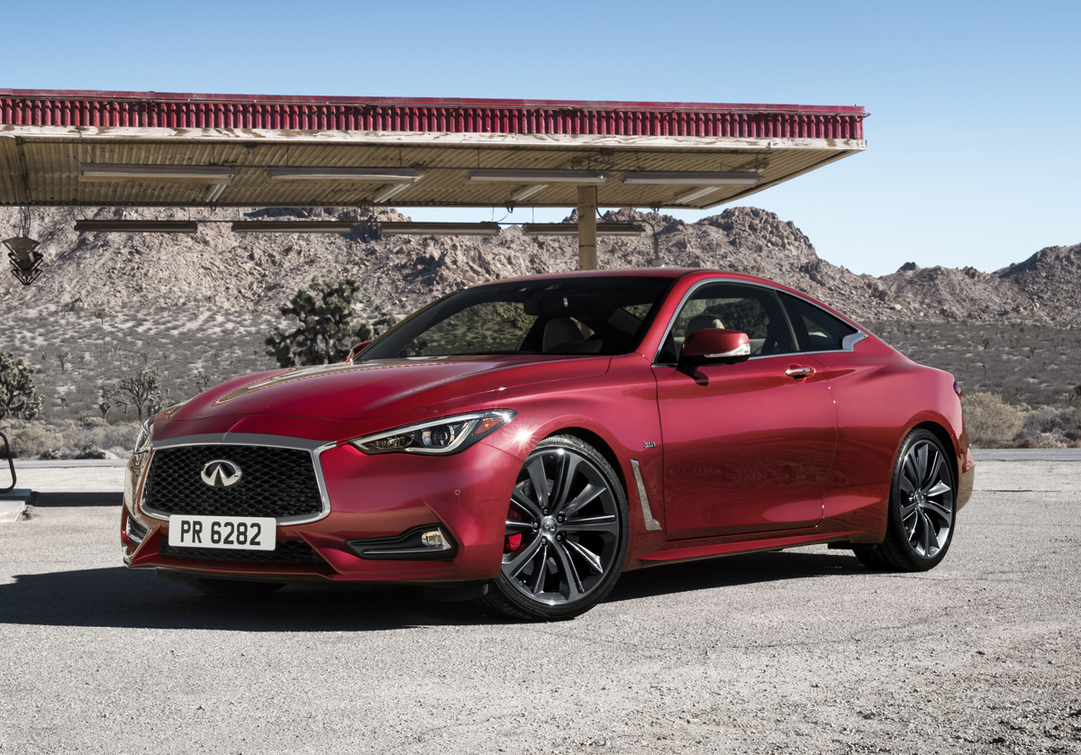Brilliant First Look 2017 Infiniti Q60  TestDrivenTV
