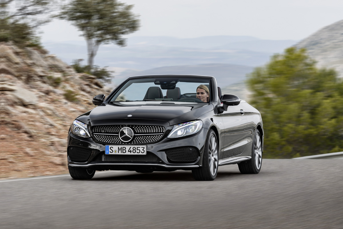 First Look 2017 Mercedes Amg C43 Cabriolet Testdriven Tv