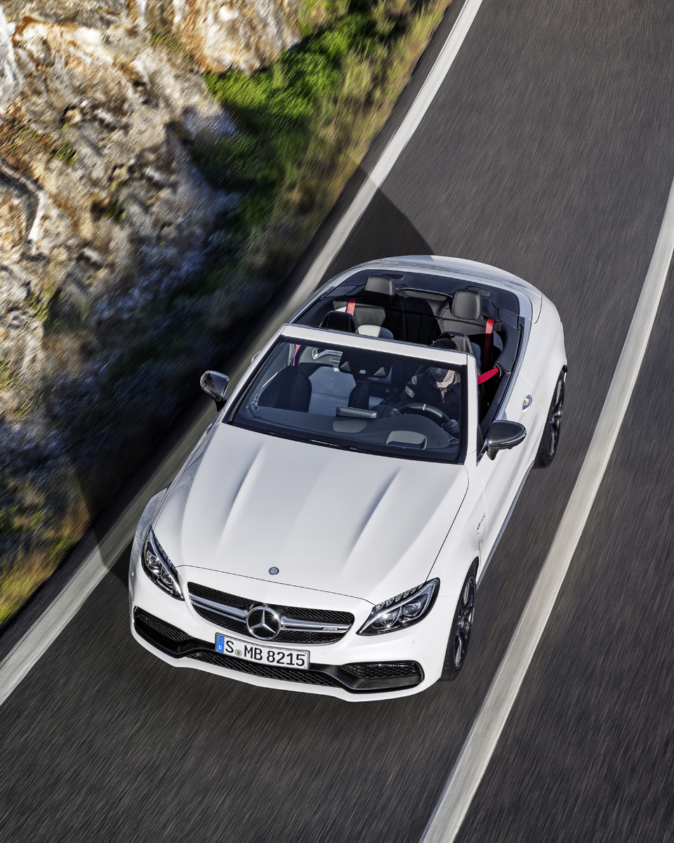 First Look: 2017 Mercedes-AMG C63 Cabriolet
