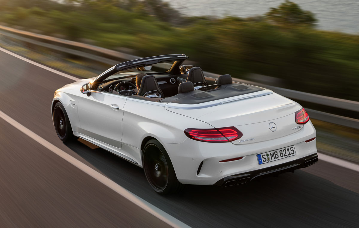 First Look 2017 Mercedes Amg C63 Cabriolet Testdriven Tv