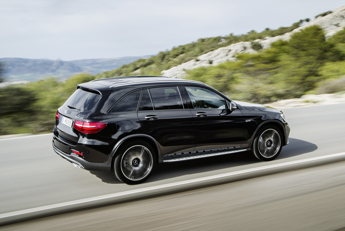 First Look 2017 Mercedes Amg Glc43 Testdriven Tv