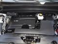2017 Nissan Pathfinder's 3.5-liter V6 engine with Direct Injecti