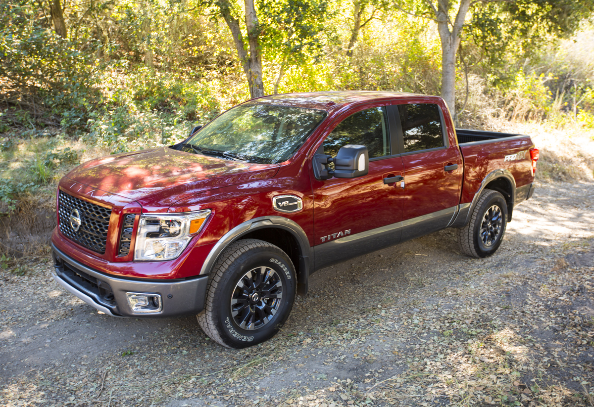 Off-Road Test: 2017 Nissan Titan Pro-4X - TestDriven.TV