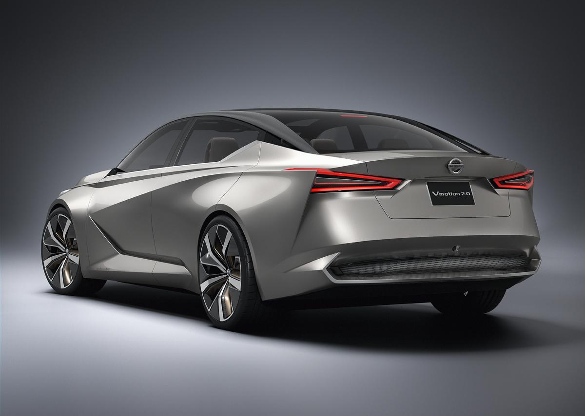 Detailed Look: Nissan Vmotion 2.0 Concept - TestDriven.TV