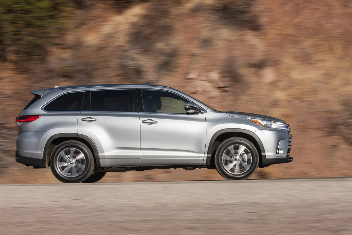 Awesome First Drive 2017 Toyota Highlander XLE V6  TestDrivenTV