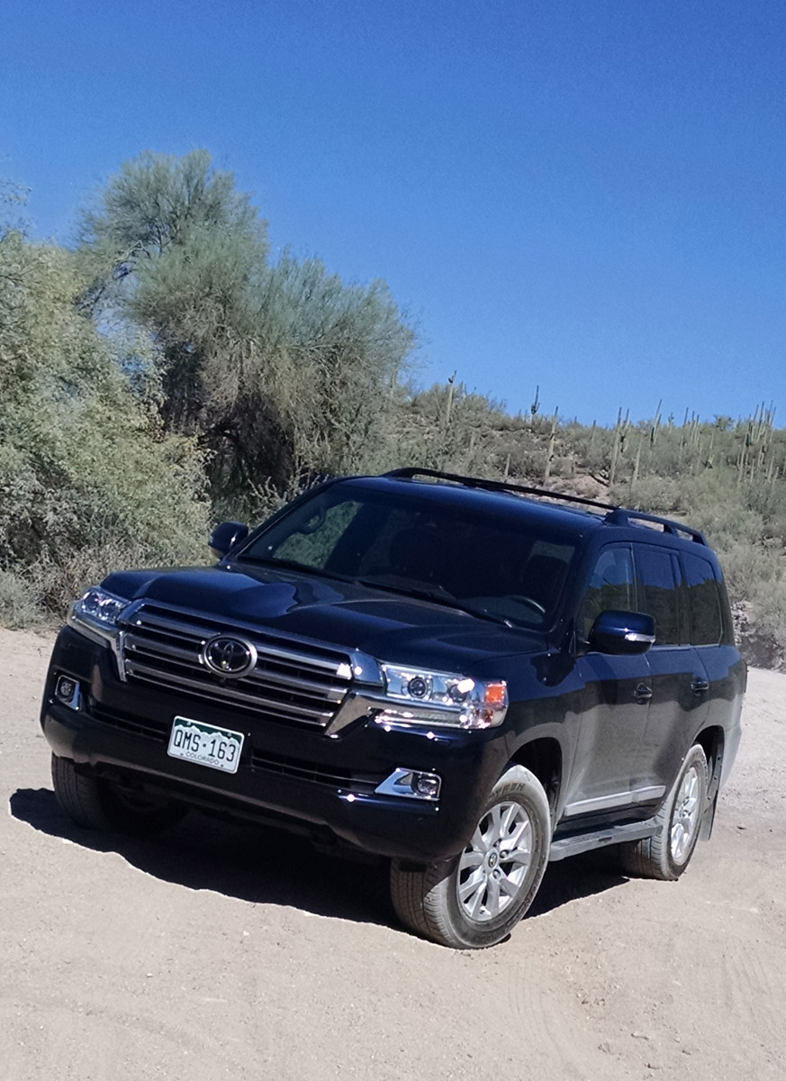 Off-Road Test: 2017 Toyota Land Cruiser - TestDriven.TV